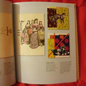 Exemplo 1 de trabalho feito por crianças, no livro Eu que fiz, de Ellen e Julia Lupton