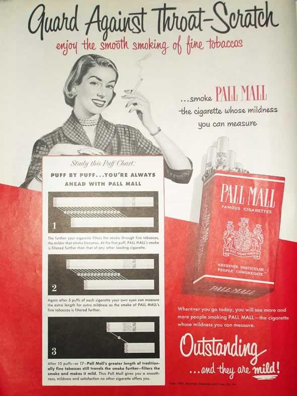 Anúncio americano de 1951, da revista The Saturday Evening Post