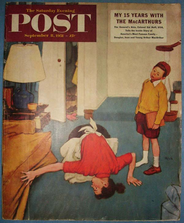 Capa da POST Magazine, 1951