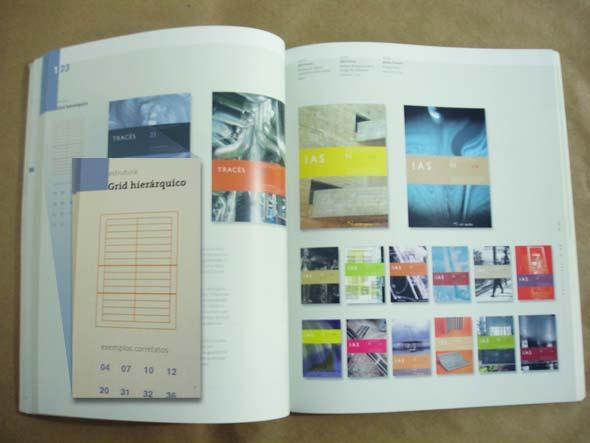 Exemplo de página interna do livro Grid - Construção e desconstrução, de Timothy Samara