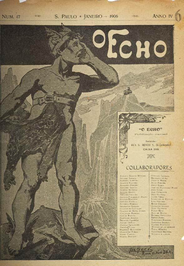 "Revista ""O Echo"", de 1906"