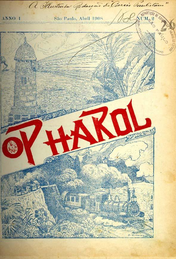 """Revista """"O Pharol"""", de 1908"""