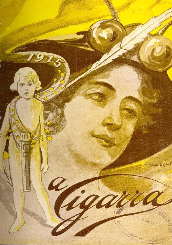 """Revista """"A Cigarra"""", de 1914"""