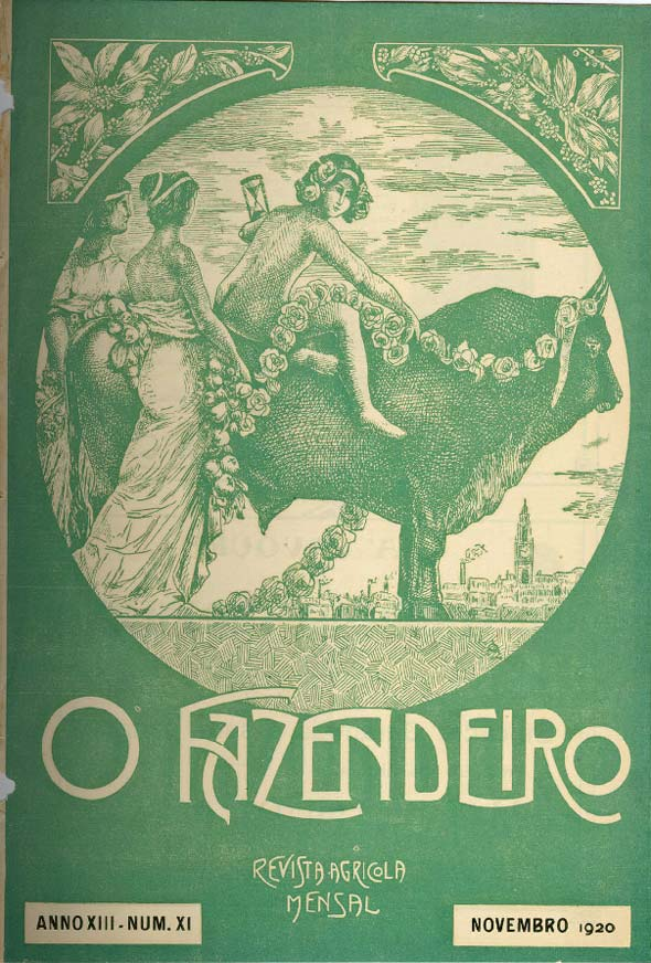 "Revista ""O Fazendeiro"", de 1920"