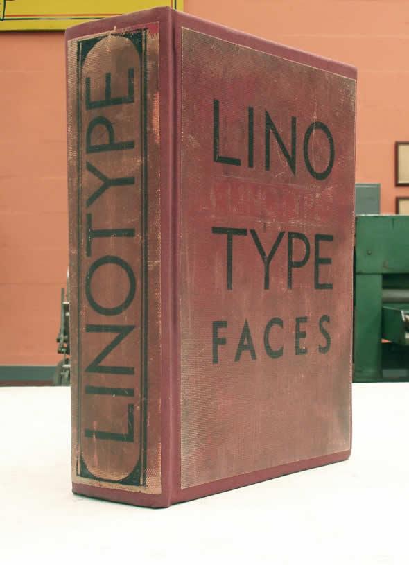Catálogo LINOTYPE Faces