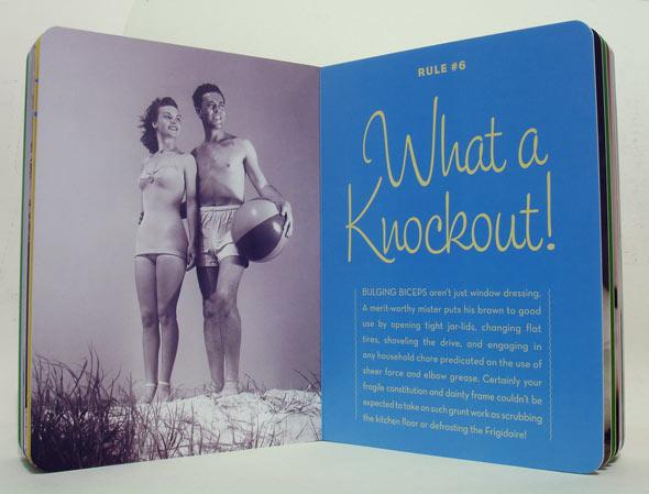 """""""Regra"""" 6 do livro The Good Husband Guide"""