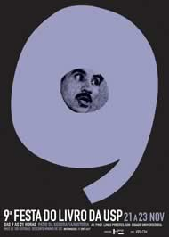 Cartaz para a Feira de Livros da USP