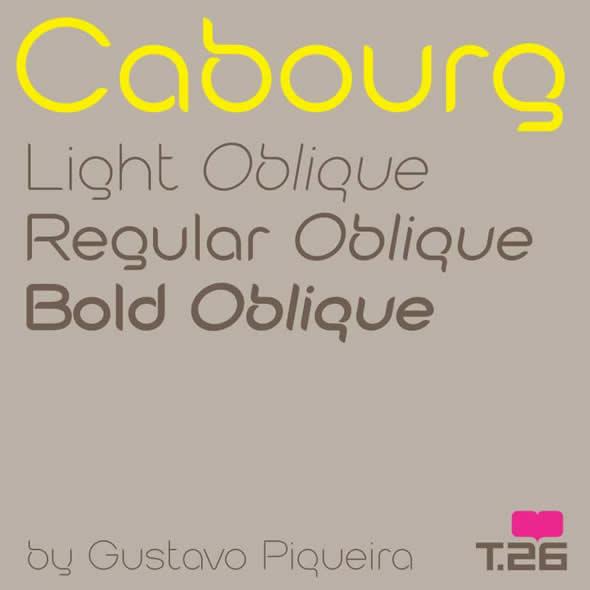 Alfabeto Cabourg, de Gustavo Piqueira