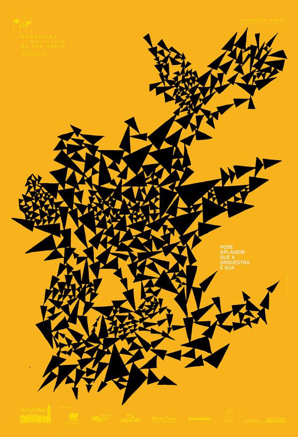 Página do livro Cartazes Musicais, de Kiko Farkas