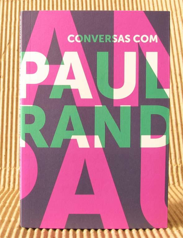Conversas com Paul Rand, capa, livro da Cosac Naify