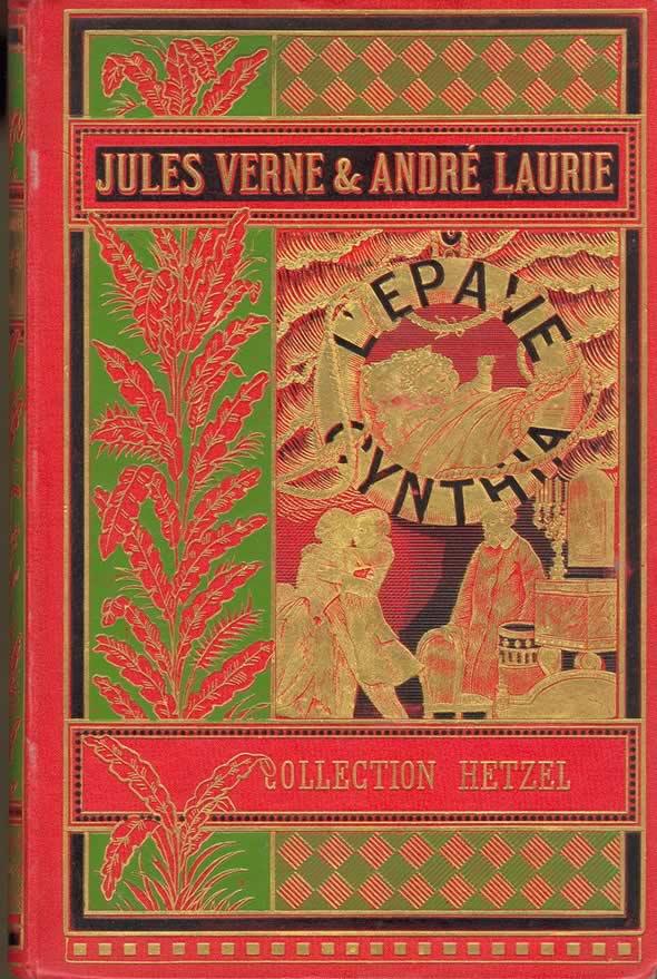 Capa de livro de Jules Verne