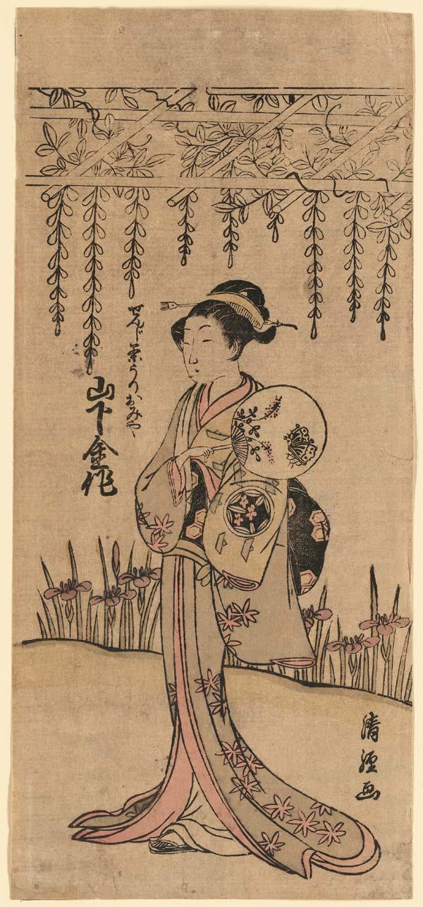 Fine-print japonesa criado/publicado entre 1770 e 1775