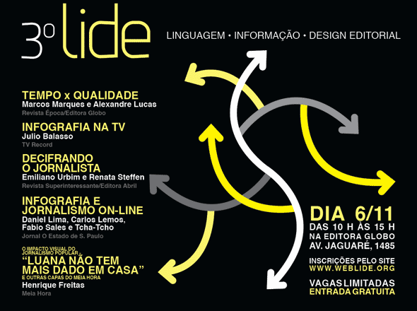 3º LIDE: Linguagem, informação e design editorial - Inscrições abertas!