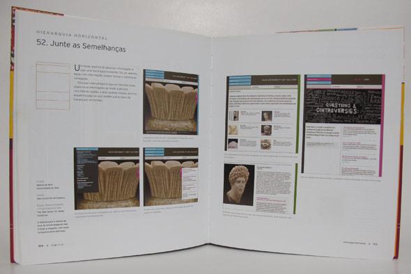 Exemplo de página do livro Criar Grids, da Editora Blucher