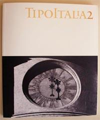 Capa da revista TIPOITALIA 2, por Claudio Rocha