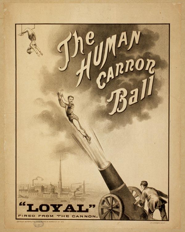 Cartaz de circo de 1879