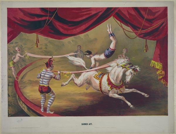 Cartaz de circo de 1895