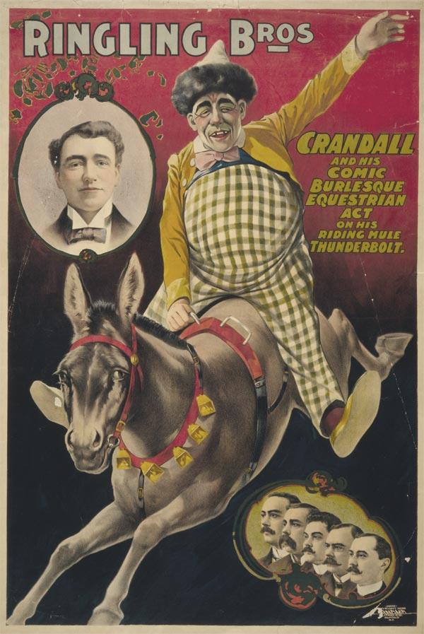Cartaz de circo de 1899