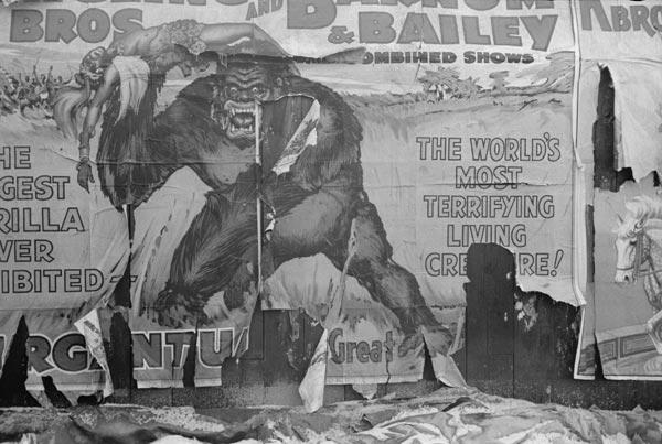 Cartaz de circo de 1938