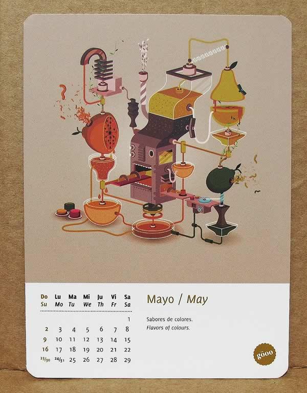 Calendário 2010 - Revista Göoo