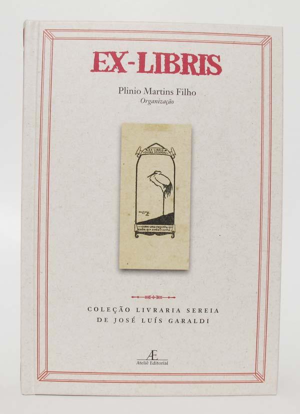 Capa do livro Ex-Libris, da Ateliê Editorial