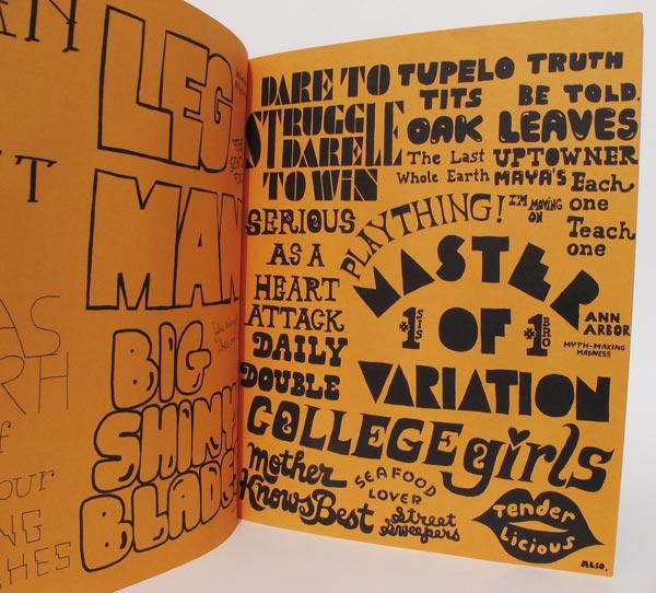 Exemplo de página do livro Hand Job
