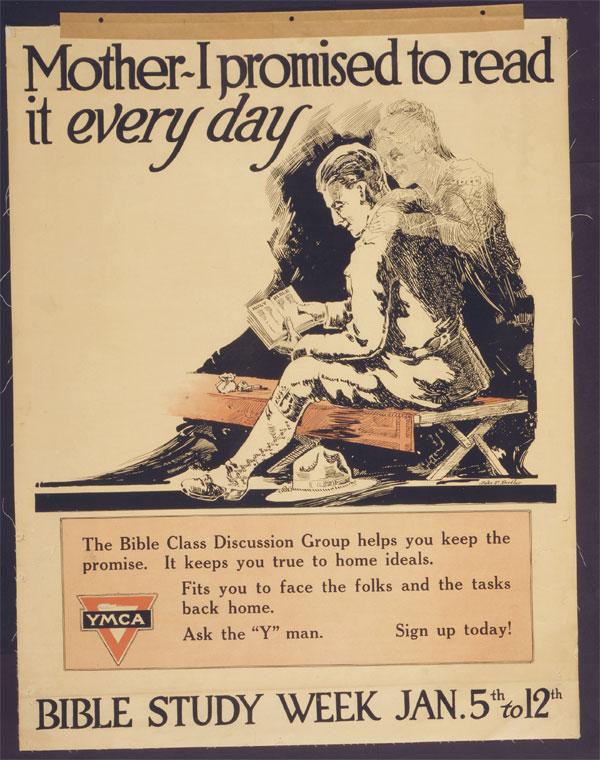 Cartaz da Primeira Guerra Mundial, publicado entre 1917 e 1918