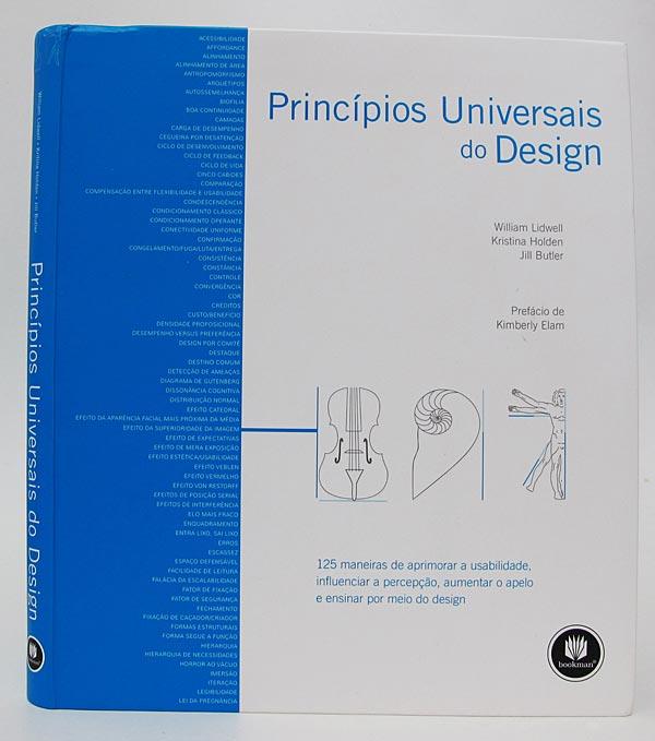Capa do livro Princípios Universais do Design, Bookman Editora