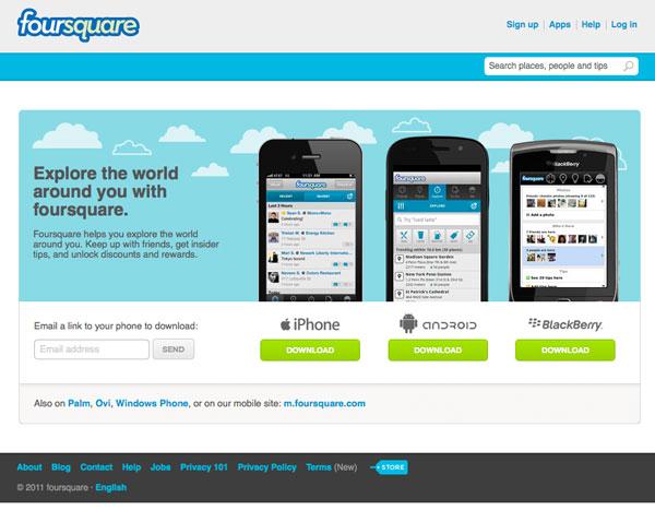Paradigma: Foursquare
