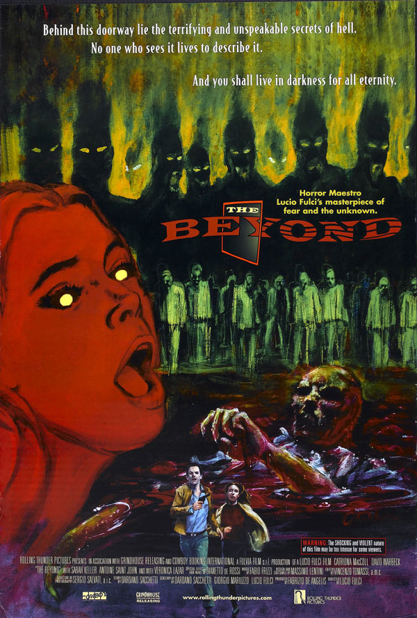 Cartaz de filme de zumbi - Beyond