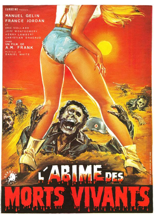Cartaz de filme de zumbi - Oasis of Zombies