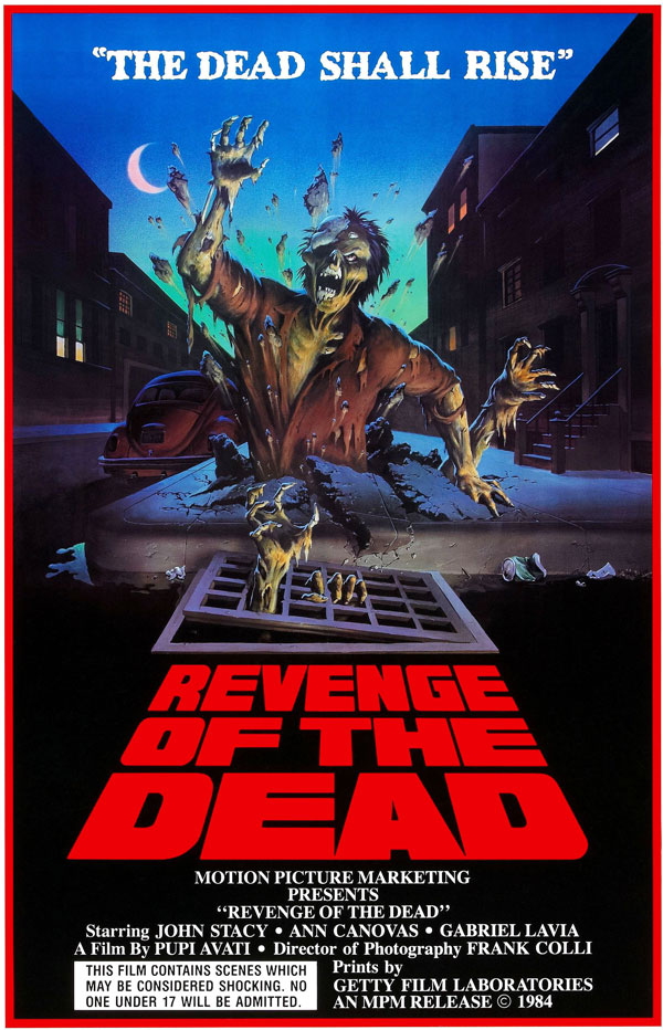 Cartaz de filme de zumbi - Revenge of the Dead