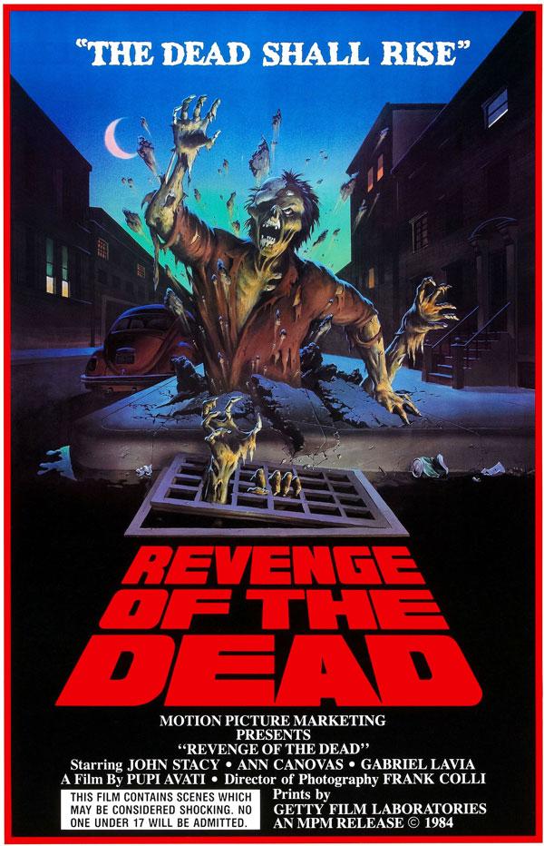 Cartaz de filme de zumbi - Revenge of the Dead