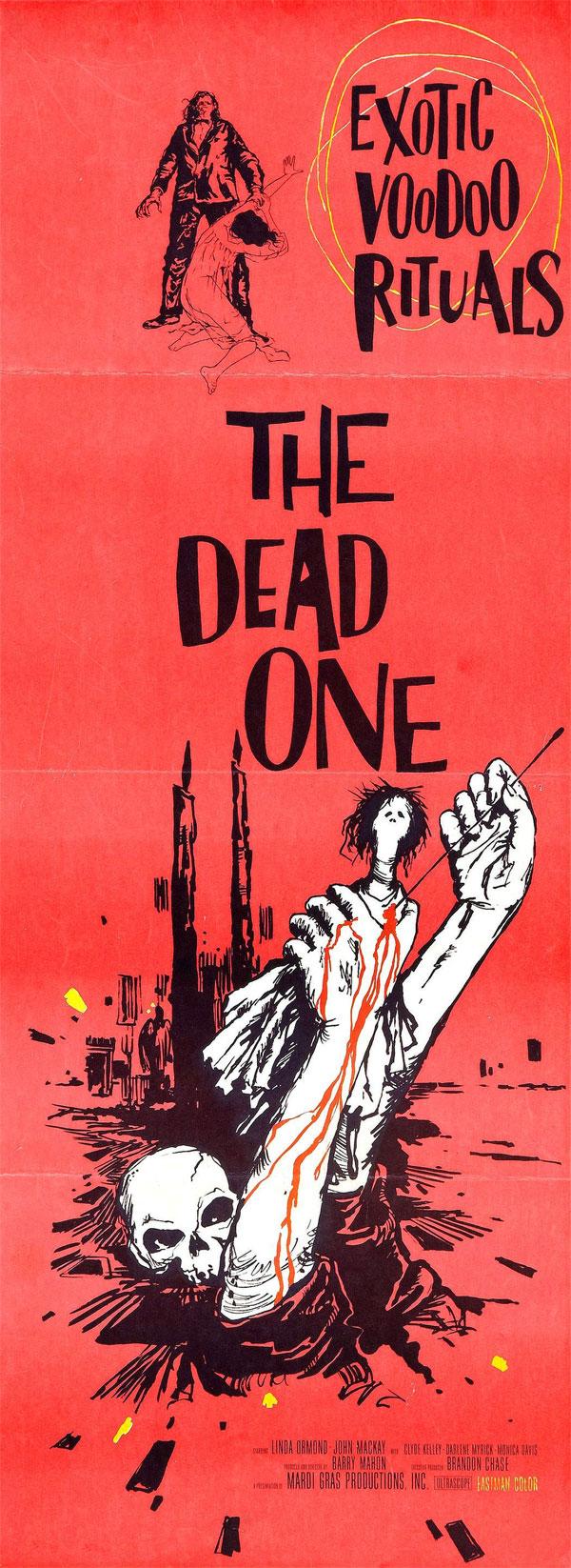 Cartaz de filme de zumbi - The Dead One