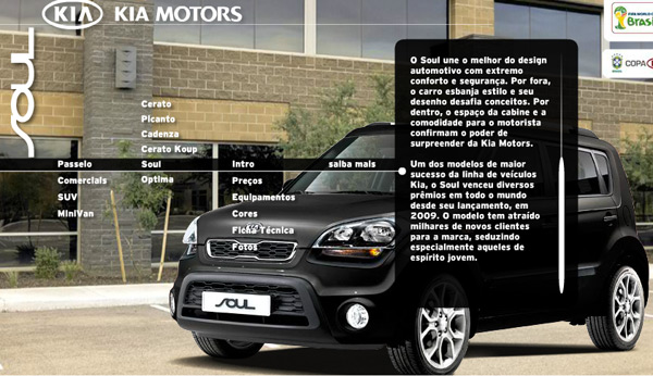 Kia Soul, o carro design