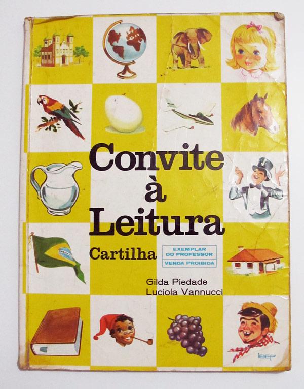 Convite à Leitura - Cartilha
