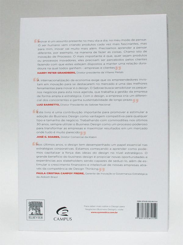 Design Para Negócios Na Prática [Heather Fraser] - Verso